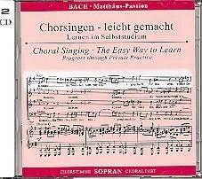 Bach -Matthäus-Passion BWV244 | Sopraan | Oefen CD
