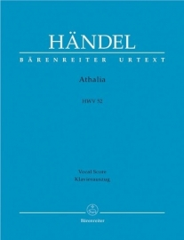 Athalia HWV52 - Händel | Barenreiter