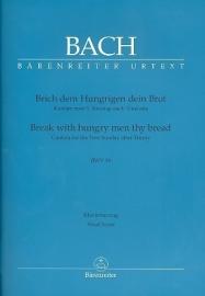 Brich dem Hungrigen dein Brot BWV39, Kantate 39 - Bach | Barenreiter