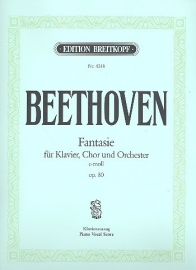 Fantasie c-moll op.80-Beethoven | Breitkopf
