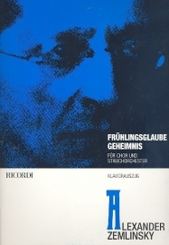 2 Gedichte - Zemlinsky
