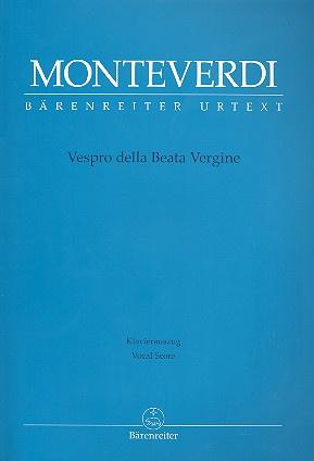 Vespro della beata vergine | Monteverdi