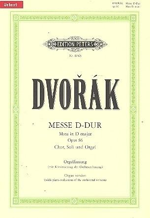 Messe D-Dur op.86- Dvorak | Peters