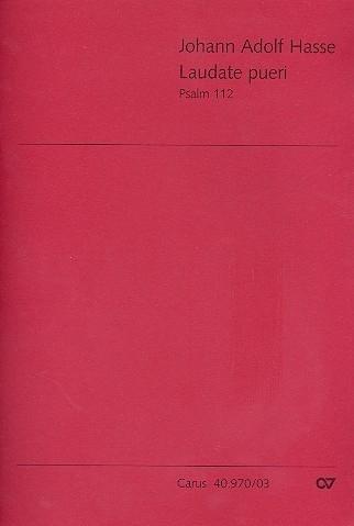 Laudate pueri : Psalm 112- Hasse