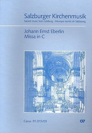 Missa C-Dur - Eberlin