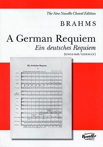 Ein Deutsches Requiem/A German Requiem-Brahms   Novello