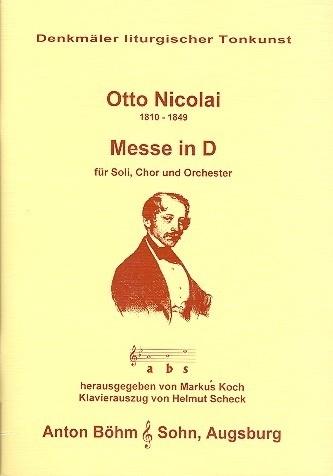 Messe D-Dur - Nicolai | Anton Bohm