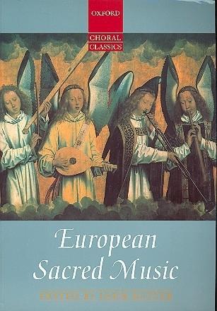European sacred Music : voor 4-8 koorstemmig, met begeleiding