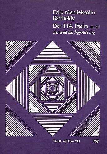 DER 114. PSALM OP.51-Mendelssohn | Carus