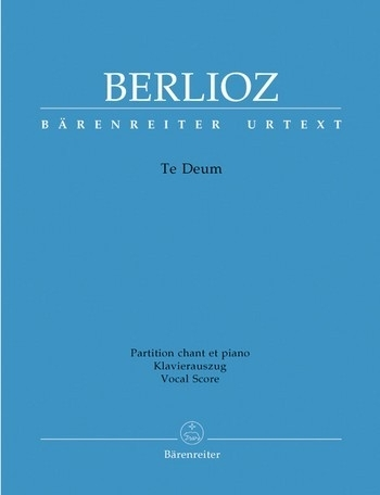 Te deum op.22 - Berlioz | Barenreiter