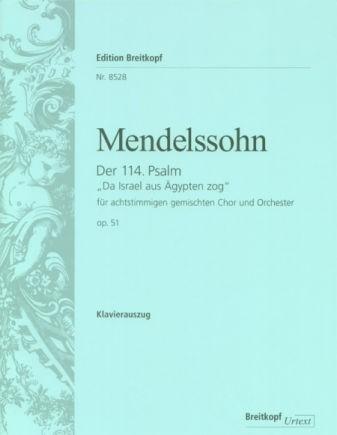DER 114. PSALM OP.51-Mendelssohn | Breitkopf
