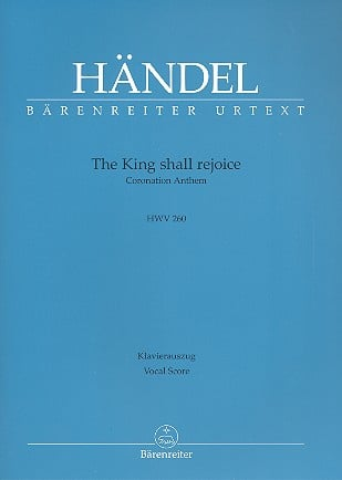 The King shall rejoice HWV260