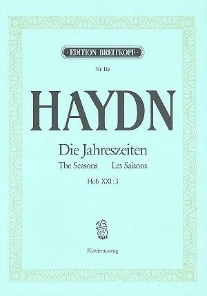 Die Jahreszeiten Hob.XXI:3- Haydn | Breitkopf