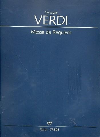 Messa da Requiem - Verdi - Partituur | Carus
