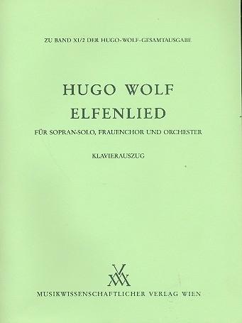 Elfenlied-  Hugo Wolf