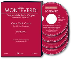Monteverdi- Vespro della Beata Vergine ( Marien Vesper)- ALT | OefenCD