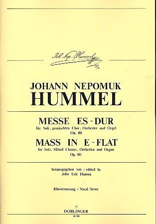 Messe Es-Dur op.80 - Hummel