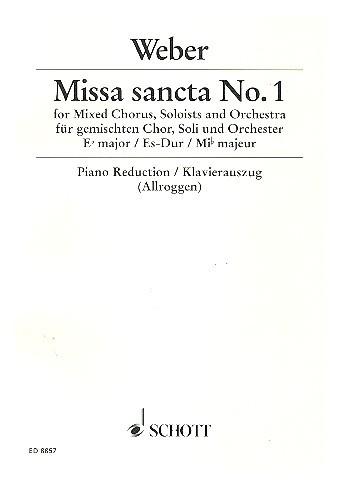 Missa sancta Es-Dur Nr.1 - Weber