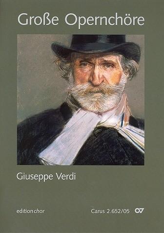 Große Opernchöre - Verdi | Carus