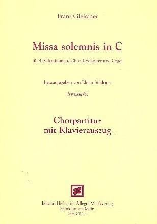 Missa solemnis C-Dur - Gleissner
