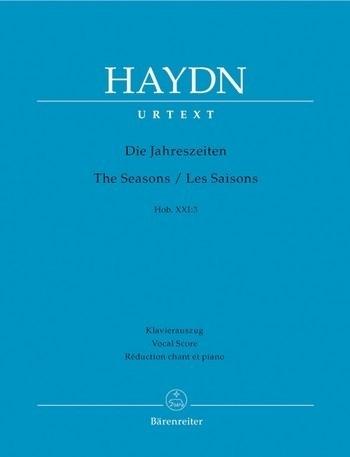 Die Jahreszeiten HobXXI:3- Haydn   Barenreiter