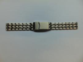 Stalen horlogeband met duikersluiting
