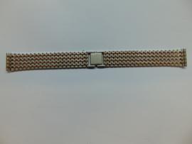 Stalen bi-color horlogeband