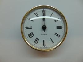 Insteek uurwerk 72 mm.