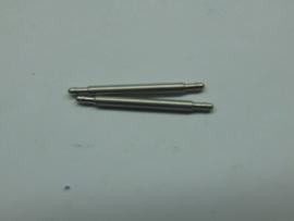 Push pins voor klapsluitingen dikte 1.6 mm.
