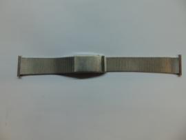 Stalen gevlochten Rowi horlogeband