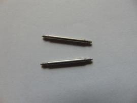 Assortiment 105 stalen push pins met kraag