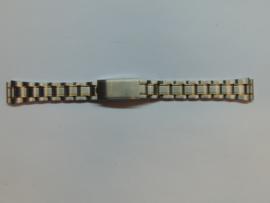 Stalen Haka bi-color horlogeband