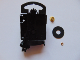 Junghans W 817 quartz uurwerkje met slinger aslengte 11 mm.