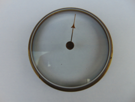 Oud barometerglas inclusief rand.  (002)