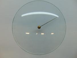 Barometerglas bol 155 mm. glas
