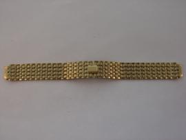 Stalen double horlogeband