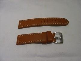 Bruine zadelleren XXL horlogeband