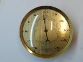 Inbouw thermometer 95 mm.