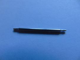1 Paar extra grote push pins staal 28 en 30 mm.