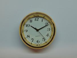 Insteek uurwerk 35 mm. double