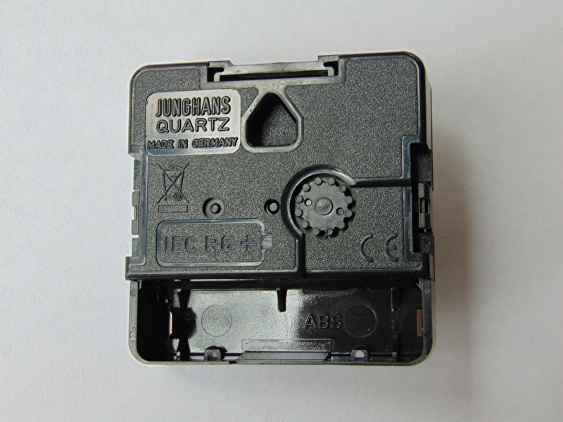 Junghans 838 quartz uurwerkjes aslengte 16.2 mm.