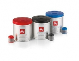 Illy koffie, cups