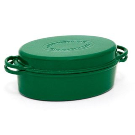 Green Dutch Oven Oval 35 CM 117670