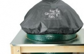 Embroidered EGG Cover voor deksel Large BGE-HLDOME