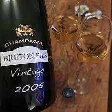 Champagne Breton & Fils millisimé 2005