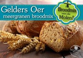 Gelders OER Meergranen Broodmix 500gram