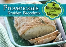 Provençaals kruidenbrood Broodmix 500gram