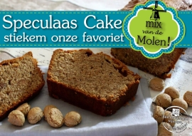 Speculaas Cake Mix 500gr