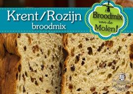 Krenten/Rozijnen Brood  Broodmix 500gram