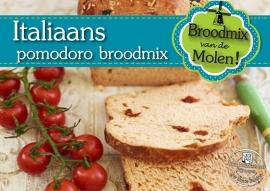Italiaans Pomodoro Brood Broodmix 500gram